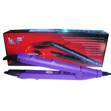 Control temperature purple color FLAT PLATE Fusion Hair Extension Keratin Bonding Tool Heat Iron 610