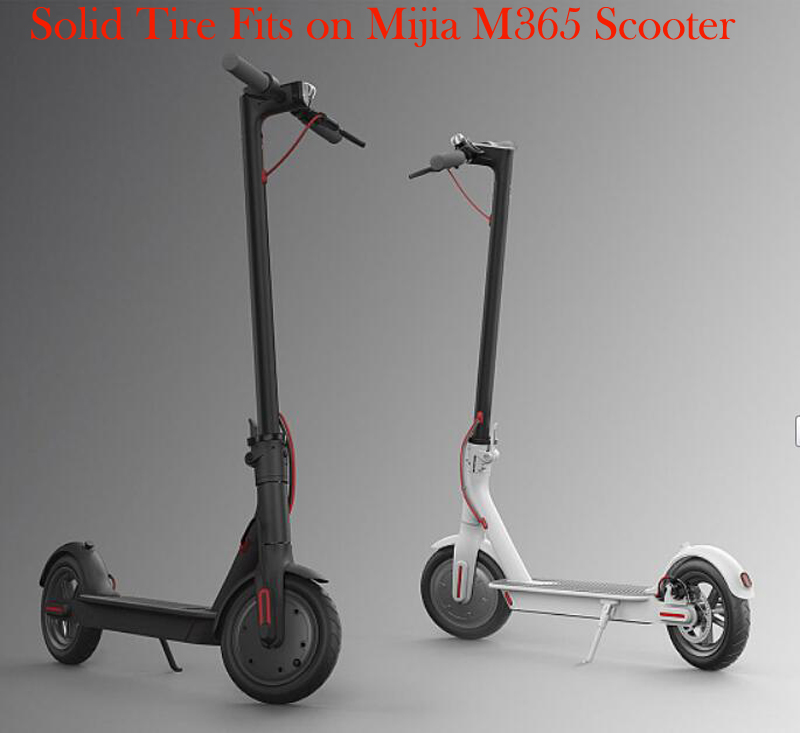 2Pcs Electric Scooter Tire For Xiaomi Mijia M365 Vacuum Solid TyreEletric Skateboard Skate Avoid Pneumatic Tyre Scooter Parts