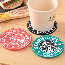 Silicone Dining Table Placemats Coaster Coffee Cups Drinks Kitchen Accessories Mat Cup Bar Mug Placemats Coaster Mats&Pads D0234(China)