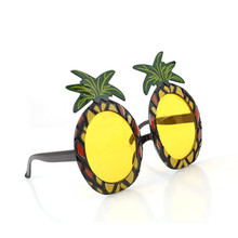 New Hot Sale Hawaiian Beach Sunglasses Pineapple Goggles Hen Night Stag Party Fancy Dress Party Event Supplies IC882901