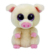 Ty Beanie Boos Stuffed Animals & Plush Pig Toys Big Eye Kawaii Gift for Baby Girl Birthday