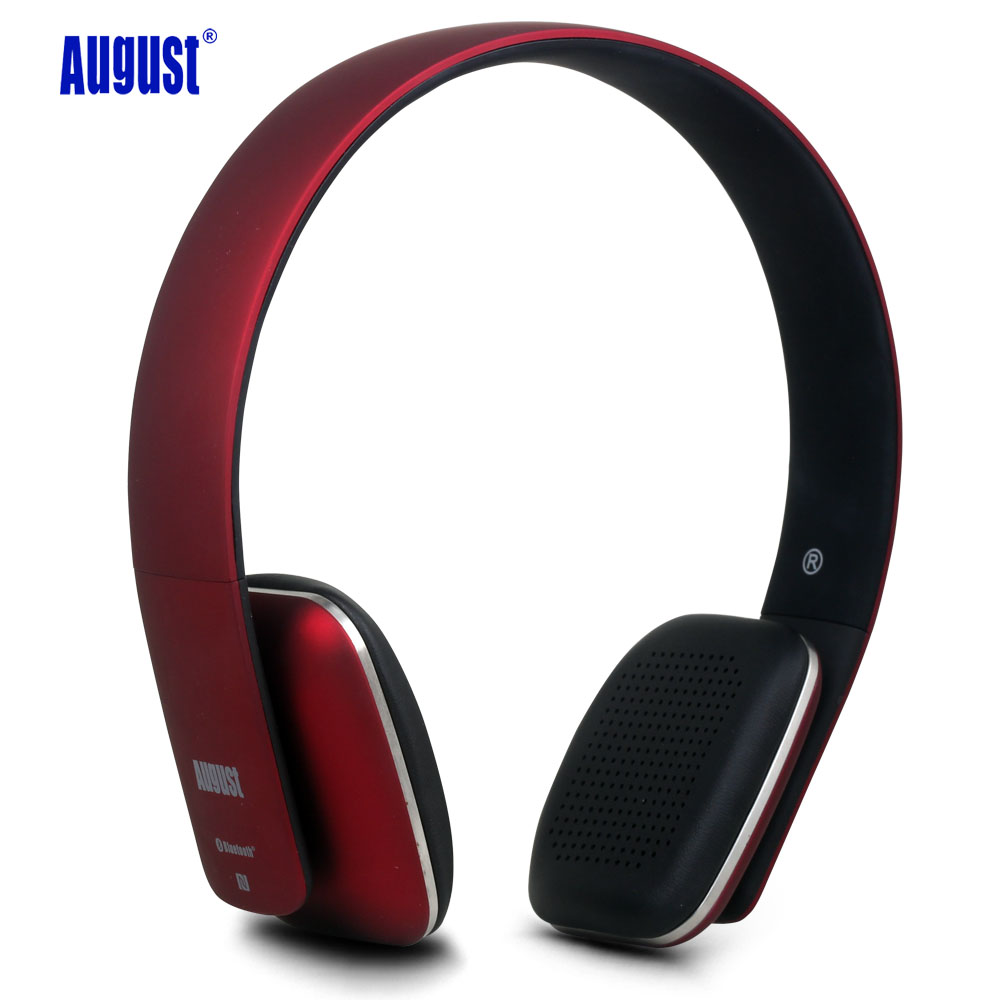 August EP636 Bluetooth Wireless Stereo NFC Headphones with Microphone Confortable On Ear Bluetooth Headset for PC,Mobile Phone<br><br>Aliexpress