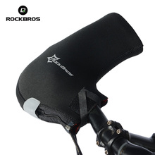 ROCKBROS Winter Unisex MTB Motor Cycling Handlebar Bar End Mittens Mitts Gloves Mountain Bicycle Bike Hands Warmer Hand Covers