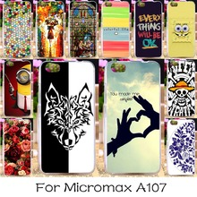 Soft TPU Silicon Mobile Phone Cover Case For Micromax Canvas Fire 4 A107 4.5 inch Covers Anti-knock Bags Hood Shell Housing
