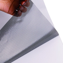 Printable One-Way Perforated Vinyl Privacy Window Film Adhesive Glass Wrap Sheet 1.37mx15m (54inx50ft) Roll(China)