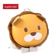 Supercute Toddler Backpack with Safety Harness Leash backpack mochila escolar kids gifts kindergarten Anti lost Lion schoolbag(China)