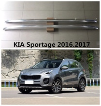 For KIA Sportage 2016.2017 Roof Racks Car Luggage Rack High Quality Brand New Aluminium Paste Installation Auto Accessories