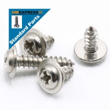 HWEXPRESS 304 Stainless Steel Head Tapping Screws With Pad M4*16
