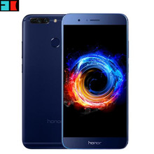 "Huawei Honor V9 6GB 128GB Global Firmware 4G LTE Mobile Phone 5.7"" 2560x1440 Kirin 960 Octa Core Dual 12.0MP Camera Cell Phone"
