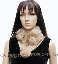 FREE SHIPPING CX-S-72A 2016 Most Popular Newest Design Elegant Real Rabbit Fur Fashion Scarf   3 COLOURS ~ DROP  SHIPPING