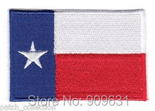 TEXAS EMBROIDERED STATE FLAG IRON ON EMBLEM PATCH LONE(China)