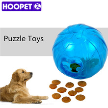 HOOPET Pet Toys Leakage Food Ball Pure Natural Imported Rubber Dog Transparent Teeth To Bite(China)