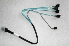 Original FOR HP 160 G6 server consists of four 6GB mini SAS SATA cable