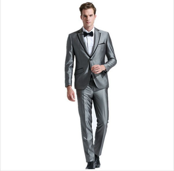 The most popular new Quality goods suit Man the groom dress business twinset of cultivate one's morality suit (jacket and pants)