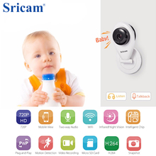 HD Mini Wifi IP Camera Wireless 720P Smart Baby Monitor Network CCTV Security Home Protection Mobile Remote camera baby monitor(China)