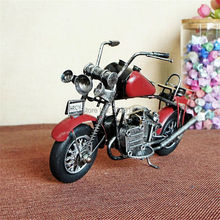 Metal home office decoration Vintage motorcycle crafts decoration multicolour antique shop/pub/cafe decoration