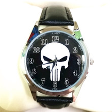 cool Quartz children's sports fashion cartoon Skull head wrist watches men for boy students christmas gift clock Hombre Reloj