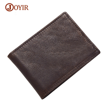 JOYIR Card Holder Business Genuine Leather Driving License Cover Men Card Wallet Thin Credit Card Holder Cover Porte Carte(China)