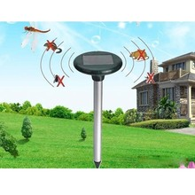 pest control reject solar pest repeller Solar Powered Ultrasonic electronic Rodent mosquito Mouse Rat Pest Repeller repelling