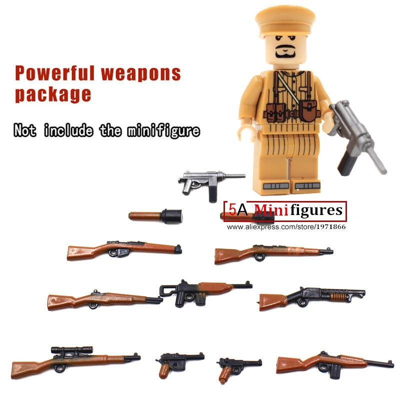 Military Series Swat Police GUN Weapons Pack Army Not Included   Brick Arms Weapon Blocks Best Children Toy<br><br>Aliexpress
