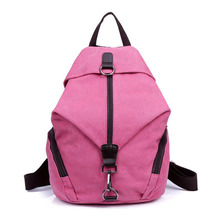 Leisure Retro Canvas Women Backpack Large Capacity Tourism Academy Style Rucksack For Students High Quality MT101179