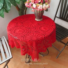 2014 new fashion design cutout cotton knitted tablecloth table cover lace towel for home decor wedding decor table towel flowers