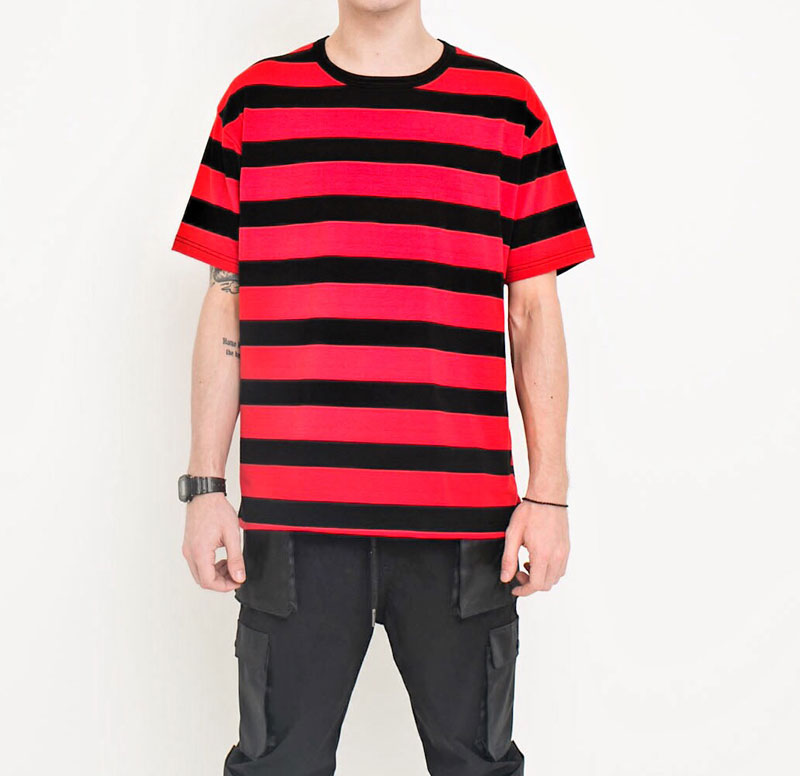 Casual Coon Striped Tshirts 1