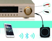 Zoweetek 420  Bluetooth 4.1  New Black Wireless Stereo Transmit and Audio Receiver  Support APT-X