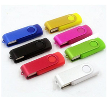 USB Flash drive promotion! Rotate colourful usb Can print logo USB 2.0 usb Flash Drive pen drive memory stick u disk S901(China)