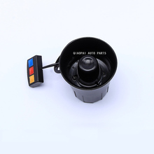 Motorcycle car acceossory part siren 3 tone horn 12V sound band high power auto loud speaker alarm horn firemen ambulance 95mm
