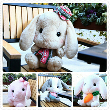 16''40cm Amuse Rabbit Doll Plush Toy New Cute Lop Rabbit Bugs Bunny Doll Christmas Gift Girls Dolls Baby Toy