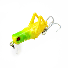 1PCS 3.5cm 3.3g Flying Jig Wobbler Lure hard lure bait Artificial bait Grasshopper insects Fishing Lures Sea fishing Tackle