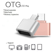 Mini Micro USB to USB OTG Cable Adapter Converter 2.0 For Mobile Phone Android Samsung Tablet PC Cable Reader Flash Drive OTG