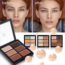 DHL Face Concealer Base Maquiagem Maquillage Foundation Palette Primer Invisible Pore Wrinkle Cover Pores Makeup 100pcs/lot(China)