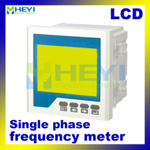 LCD digital frequency counter 120*120mm 96*96mm single phase digital Frequency meter