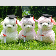 new 45cm Japanese Alpacasso Soft Toys Doll Stuffed Animals Toy 4 colors Alpaca Plush Kids Graduation Gift T21