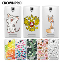 CROWNPRO Soft Silicone TPU For Lenovo A1000 Case Cover Colored Drawing Case Back Protector for Lenovo A1000 A 1000 Phone Cover