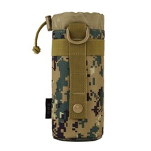 Outdoor Tactical Gear Military New Original Designed Bottle Pouch Molle System Water Bottle Bag Kettle Pouch Holder