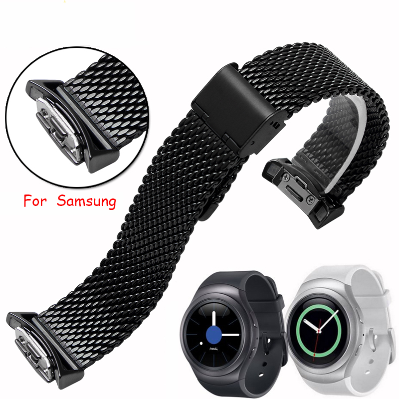 Hot sale High-quality stainless steel Samsung Gear S2 smart watchband 20mm Watch strap<br><br>Aliexpress