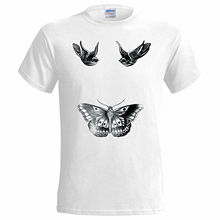 Harry Styles Tattoo Inspired Mens T Shirt 1D One Direction Swag Fresh High Cartoon Print Short Sleeve T-Shirt Free Shipping