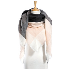 Top quality Winter Scarf  Plaid Scarf Designer Unisex Acrylic Basic Shawls Women's Scarves hot sale VS50