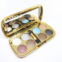 LAMEILA 8 Colors Ultra Shining Glitter Eye Shadow Palette Makeup Brush Sets Waterproof Shimmer Eyeshadow Pigments Kits Cosmetic(China)