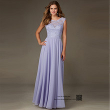 Lace Lavender Bridesmaid Dresses Vestidos de Madrinha Robe demoiselle d'honneur V Back Long Wedding Party Dress Gowns Sequin