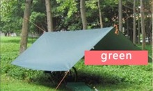 3*3m 210T with silver coating 3F UL tent outdoor camping roof top tent water proof army tent tarp