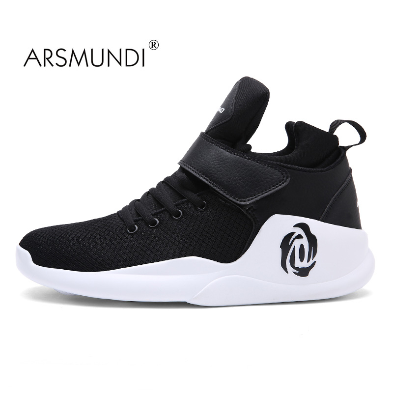 ARSMUNDI Men Shoes Men's Basketball Sneaker 2017 Summer High Quality Breathable Thread Lifestyle Lace Up Sport Shoes Men(China)