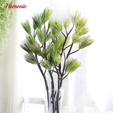 94cm real like Plastic Artificial fake plastic Pine Evergreen Plant Tree Branch Green for Christmas Wedding Home Office Furnitur