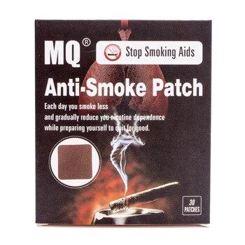 30 Бросить Курить Патчи MQ 100% Натуральный Ингредиент и Анти Дыма Патч для Прекращения Курения Патч Бросить Курить