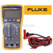 Free Shipping Fluke 117C HAVC VoltAlert Backlight Multimeter 117 True RMS(China)