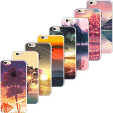 Soft TPU Cover For Apple iPhone 6 iPhone 6S iPhone6 iPhone6S Case Cases Phone Shell Painted Charming Scenery Newest Hot Best Top