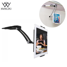 MXCZKJ Tablet Stand Kitchen Wall Universel Mounted Tablet Wall Holder Cell Phone Holder 13.4 To 19 Cm Width For Iphone 7 Plus(China)